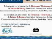 Rencontre avec Tatiana Rosnay L'Institut français Barcelone