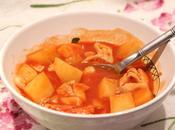 Ragoût poisson tomates pommes terre