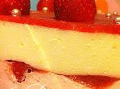 Bavarois citron/ fraises pour Gourmands