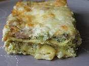 Lasagnes ricotta, brocolis jambon italien