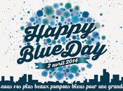 avril, sensibilisation l'autisme fête avec HAPPY BLUE NINOO
