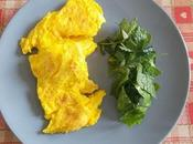 Omelette oeufs canes