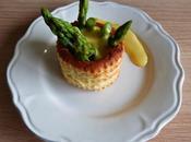[Spécial Pâques] Vol-au-vent asperges sauce hollandaise Asparagus Hollandaise puff pastry shell