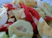 Salade pommes terre câpres.