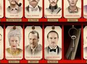 Grand Budapest Hotel Anderson avec Ralph Fiennes, Tony Revolori, Jude Law, Willem Dafoe, Saoirse Ronan,Jeff Goldblum