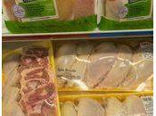 quart poulets/dindes achetés supermarché contaminés bacteries
