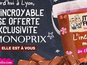 LYON Distribution gratuite mousse chocolat Michel Augustin