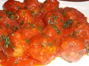 Boulette viande boeuf sauce tomate!