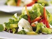 Salade mozzarella avocat