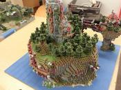 monde Minecraft reproduit grâce imprimante