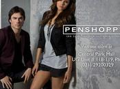 Somerhalder & Nina Dobrev pour Penshoppe.