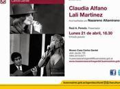 Claudia Alfano Lali Martínez soir Museo Casa Carlos Gardel l'affiche]
