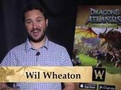 Wheaton guidera millions joueurs dans Dragons Atlantis