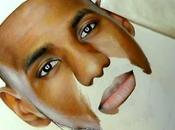 Lebron James dessiné jeune artiste