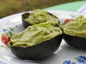 Petites crèmes d'avocat citron vert