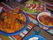 Couscous marocain légumes poulet