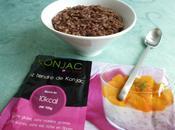 risotto konjac chocolat seulement calories (sans beurre, sans sucre gluten)