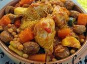 Couscous marocain poulet ultra simple