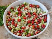 Salade couscous marocain Side