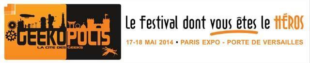 Geekopolis festival cultures l'imaginaire