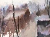 Paysage l'aquarelle
