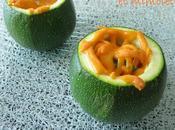 Courgettes farcies surimi, feta mimolette