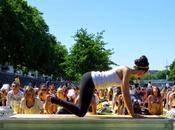 Alors, c'était comment cette séance yoga plein