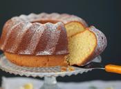 Cake citron amandes romarin base lait fermenté