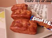 Mini-cakes Petits Suisses fraise, Bananes Smarties