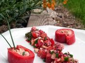 Ingrédients Makis poivron leur salsa fraises