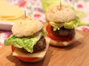 Mini-hamburgers maison