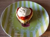 version cheesecake fraise-rhubarbe Christophe Michalak