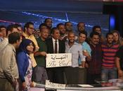 Programme commun écrans arabes l'émission Al-Barnameg Bassem Youssef