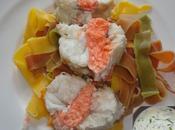 Rôti lotte saumon