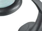 nouvelles lampes-loupes table couleur noire