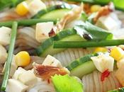 Salade Konjac Shiratakis sauce soja