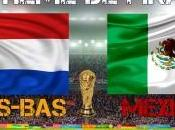 Pays-Bas Mexique huitième finale Mondial 2014