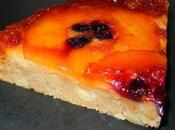 Gâteau renversé pommes caramélisées cassis