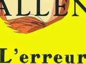 L'erreur humaine Woody Allen #Littérature
