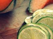 Papillote poulet melon citron vert