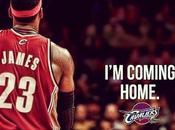 Lebron James coming home