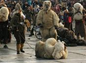 spectre l'homme sauvage figure mythique carnaval europeen.