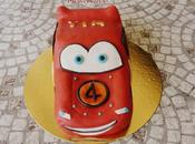 Gâteau Cars Flash Queen