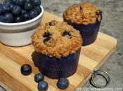 Muffins Myrtilles Streusel Croustillant