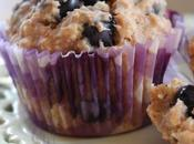 ~Muffins bleuets l'avoine~