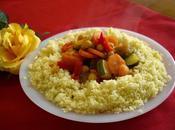 Recette Couscous marocain légumes d'agneau