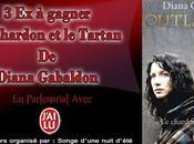 Exemplaires Outlander Chardon Tartan) Diana Gabaldon gagner blog
