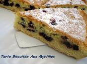 Tarte Biscuitée Myrtilles