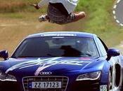 Sauter dessus Audi lancée km/h