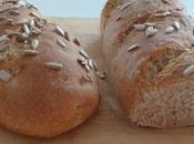 Pain céréales graines tournesol levain fermentescible